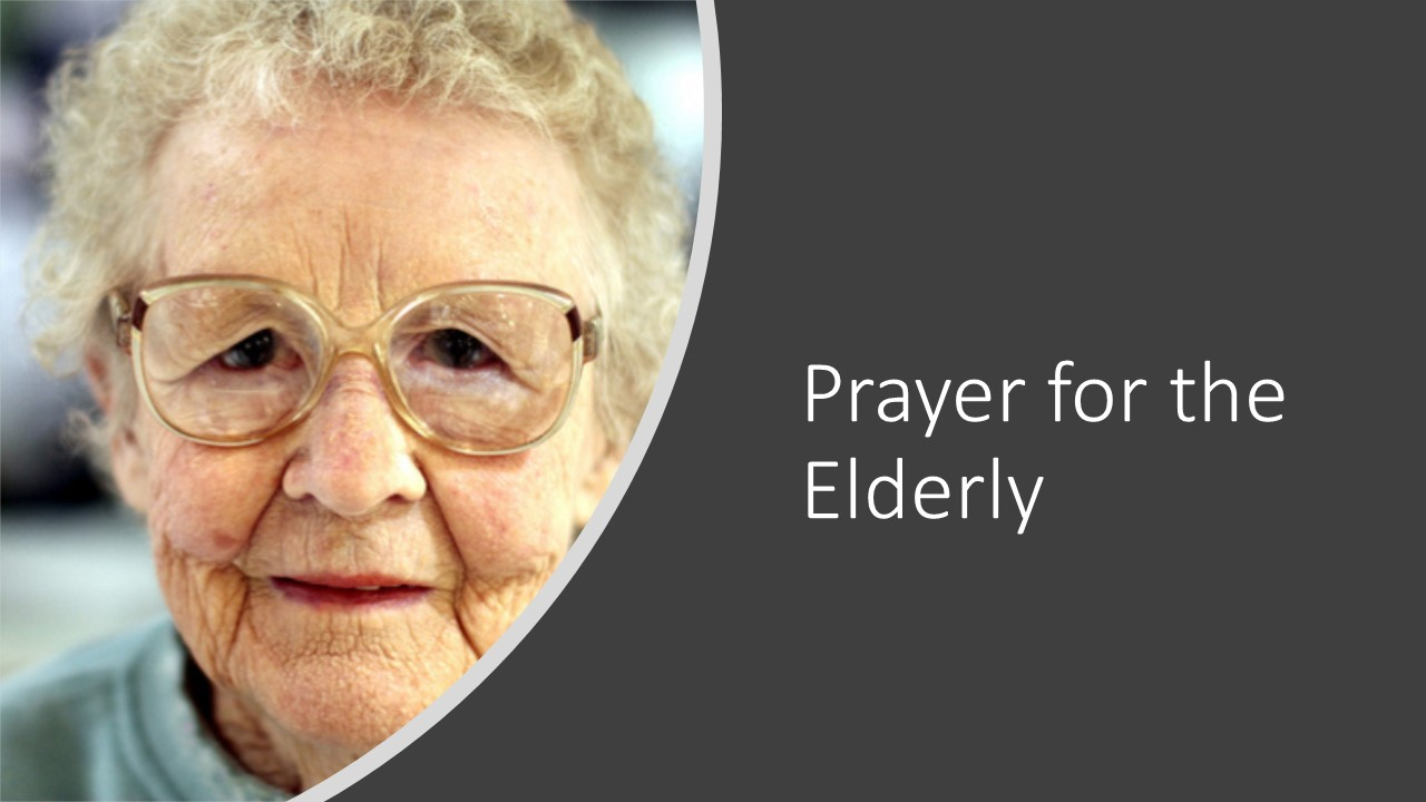 An Old Woman face | Pray for the elderly